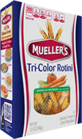 rotini-tri-color 100% Semolina