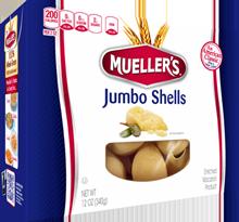 shells-jumbo 100% Semolina