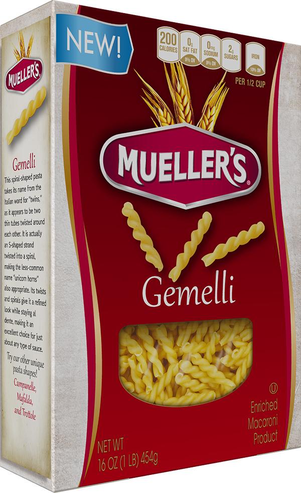750676_32955_A_3D_c 100% Semolina Gemelli