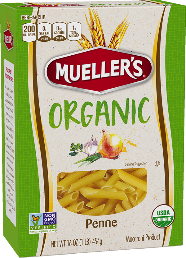 Muellers-Organic-Penne Organic Penne