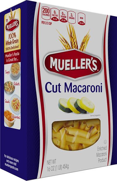 Cut-Macaroni 100% Semolina Cut Macaroni