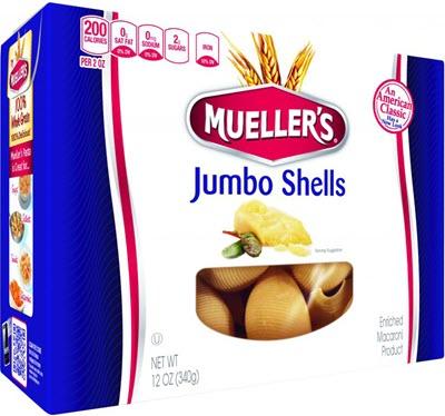 Jumbo-Shells 100% Semolina Jumbo Shells