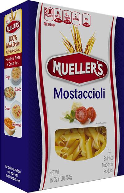 Mostaccioli 100% Semolina Mostaccioli