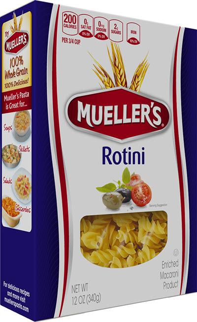 Rotini 100% Semolina Rotini