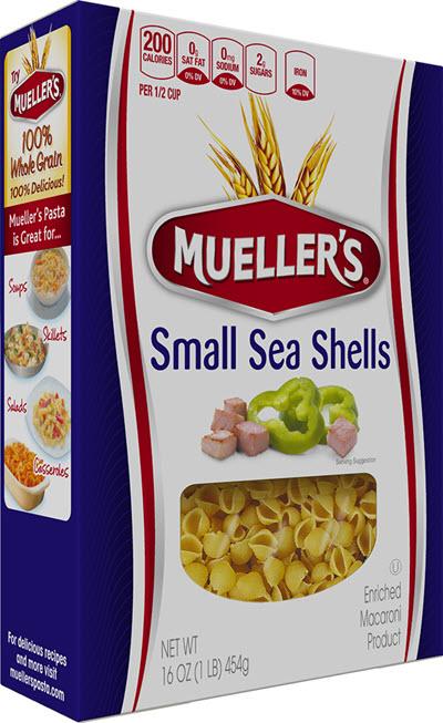 Small-Sea-Shells 100% Semolina Small Sea Shells