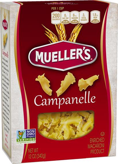 Campanelle410w 100% Semolina Campanelle