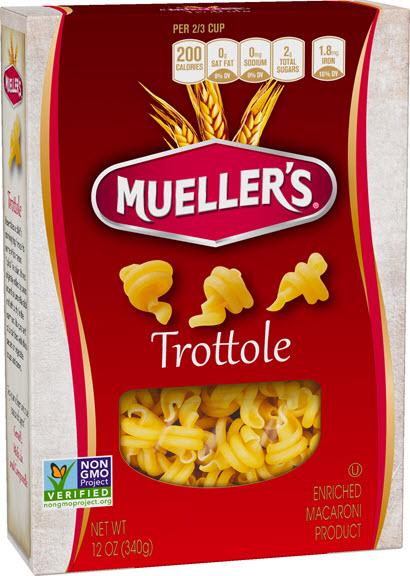 Trottole410w 100% Semolina Trotolle