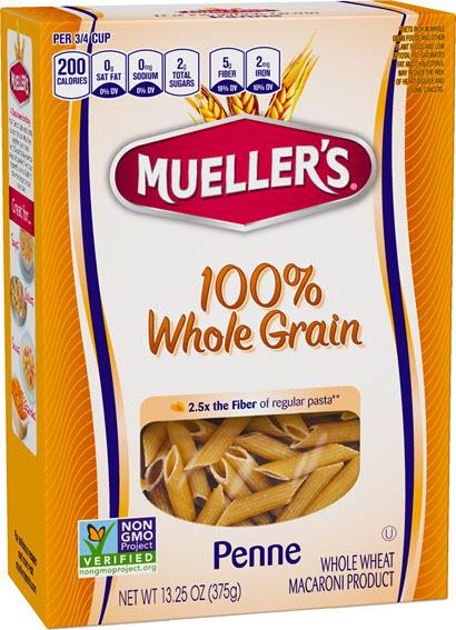 WG-Penne-410w 100% Whole Grain Penne